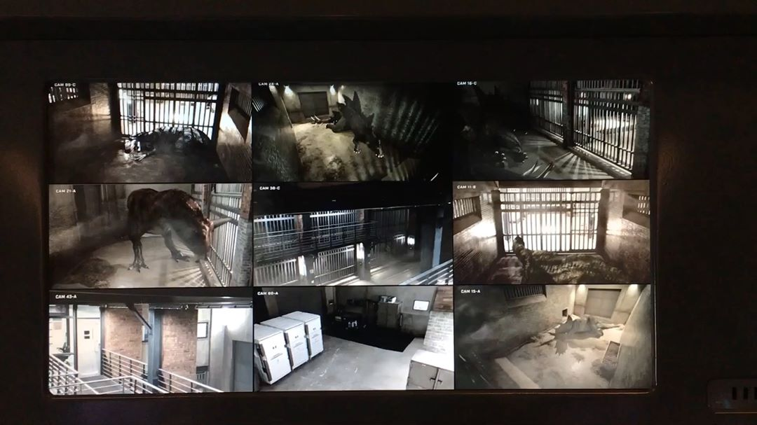 """Andy Nicholson on Instagram: """"DINO CAGES - SECURITY CAM FOOTAGE - 6 SPECIES!! LOCKWOOD HOUSE BASEMENT…DINO CONTAINMENT AREA 😔😔 - These views of the different…"""""""