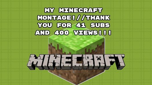 THANK YOU FOR 400 VIEWS!!!//41 SUBS THANKS!!!