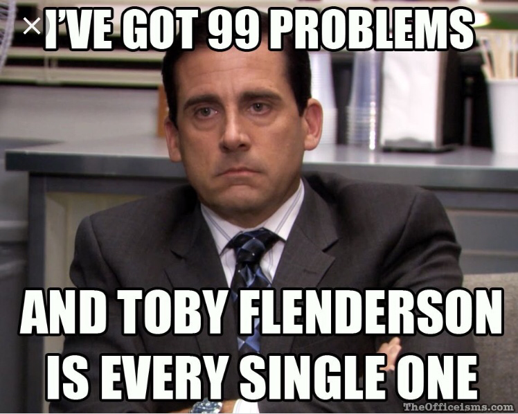 Do you hate Toby?