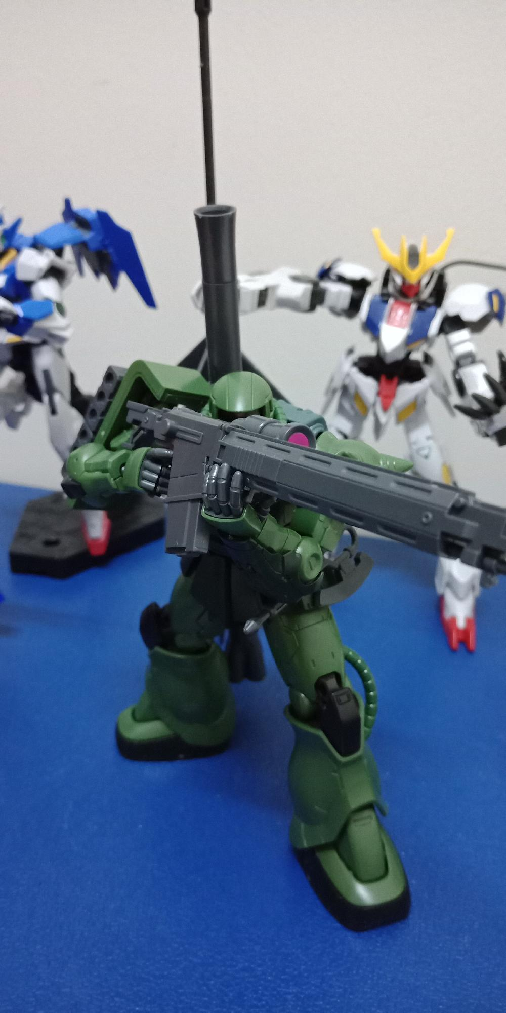 My first Zaku 2 Type C / C5