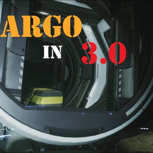 [Star Citizen 3.0] How To Load Cargo Into The Aurora By Yourself