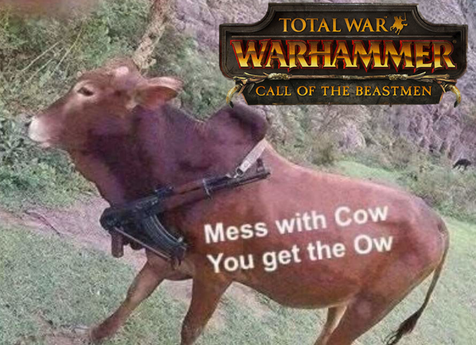 Don't mess with the beastmen