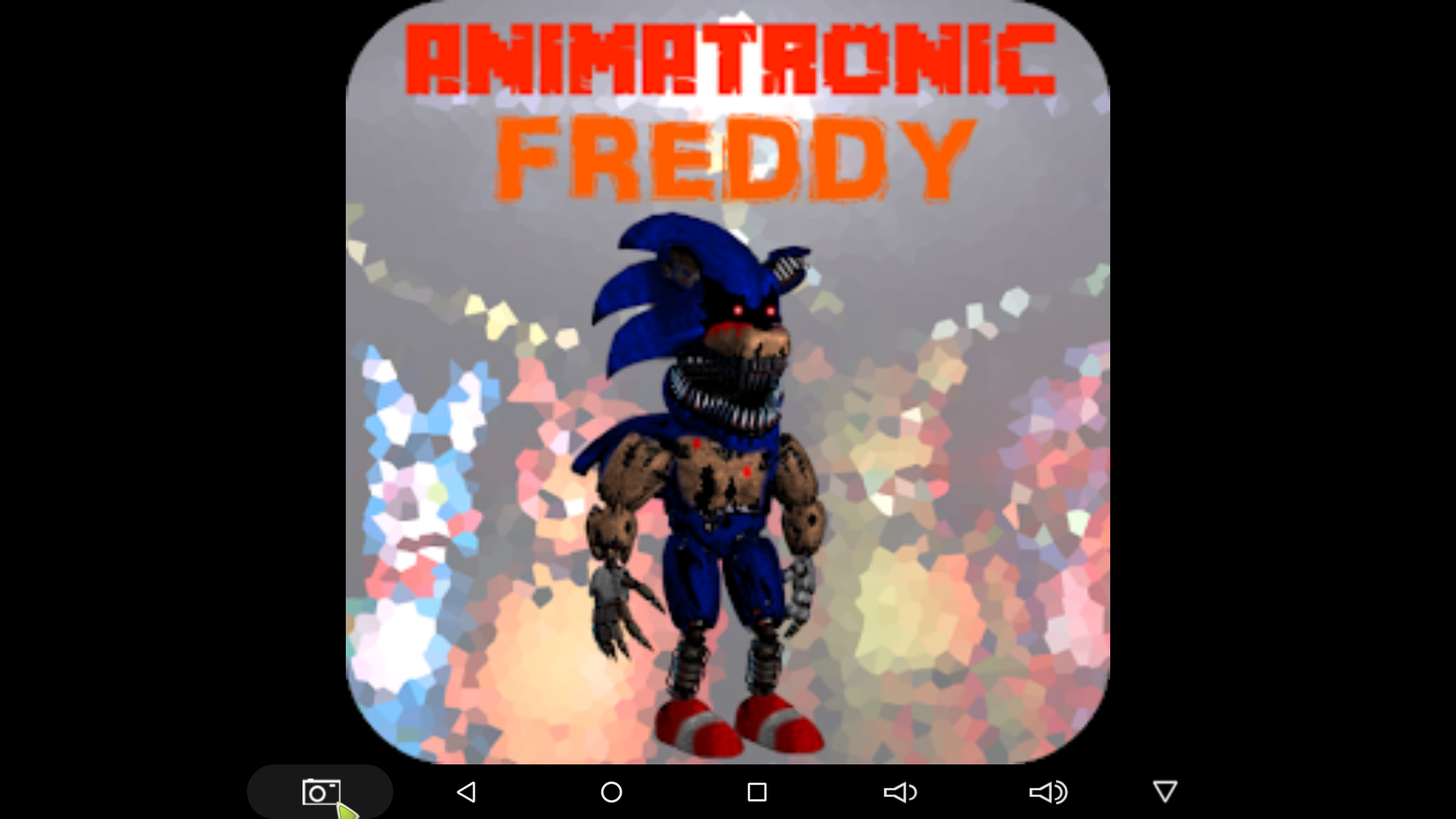 sonic animatronic fredy