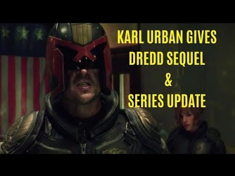 DREDD Sequel & Mega-City One NEWS - Karl Urban Comments