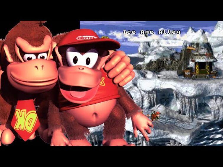 Donkey Kong County's amazing 'RASTERED' graphics...