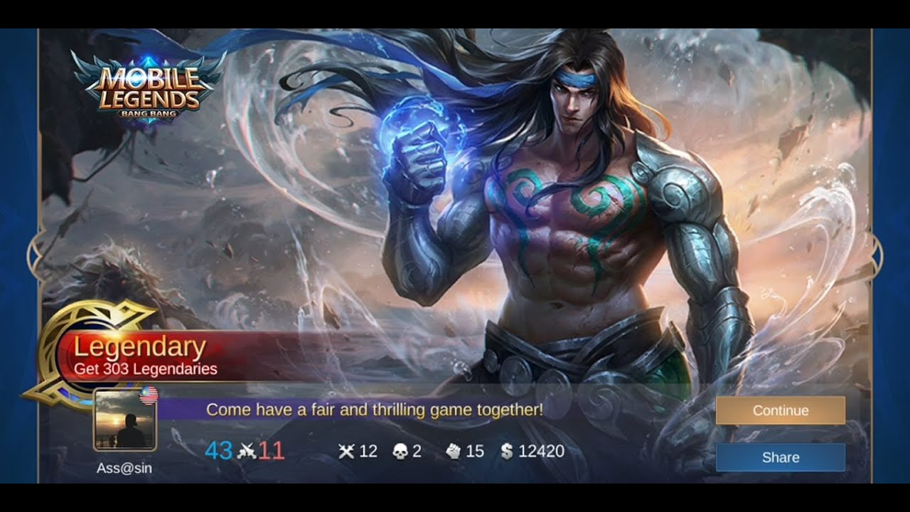 Is Badang The Perfect Fighter ? Badang MVP Gameplay | Mobile Legends