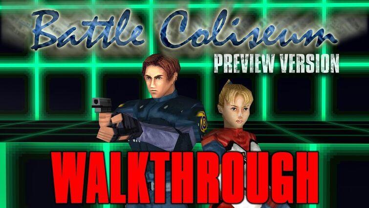 Resident Evil 1.5 Battle Coliseum Walkthrough
