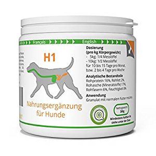 ww7 H1 | Darm & Wurm Formel für Hunde | 300g Natürliches Premium Granulat: Amazon.de: Haustier