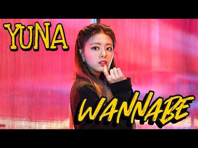 ITZY - WANNABE MV (Yuna focus)