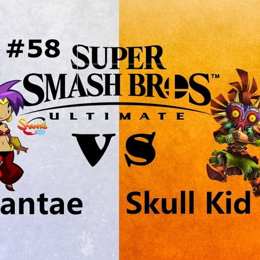 Smash Bros Ultimate Newcomer Tournament EP.58 Skull Kid vs Shantae