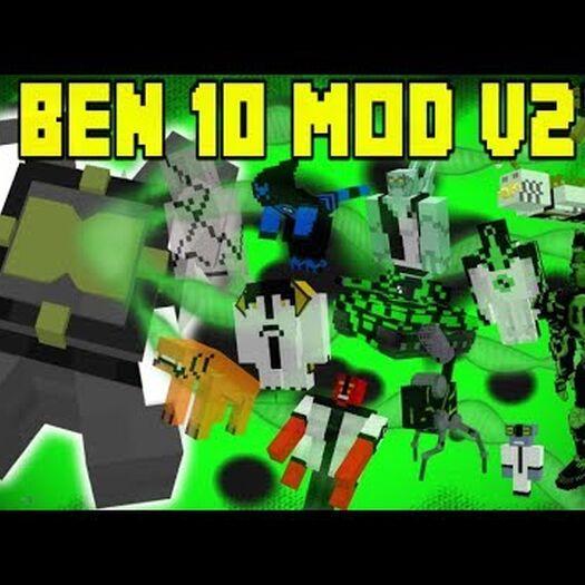 Ben 10 Vanilla Mod v2 | 11 NEW Aliens! | Minecraft