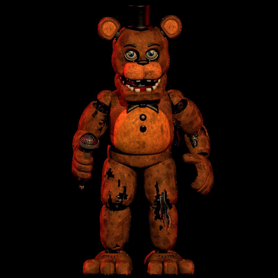 Withered Freddy | FANDOM