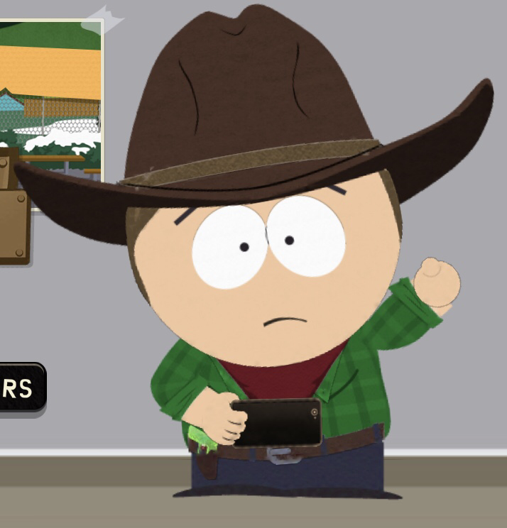 It's me Hourmazd in the South Park