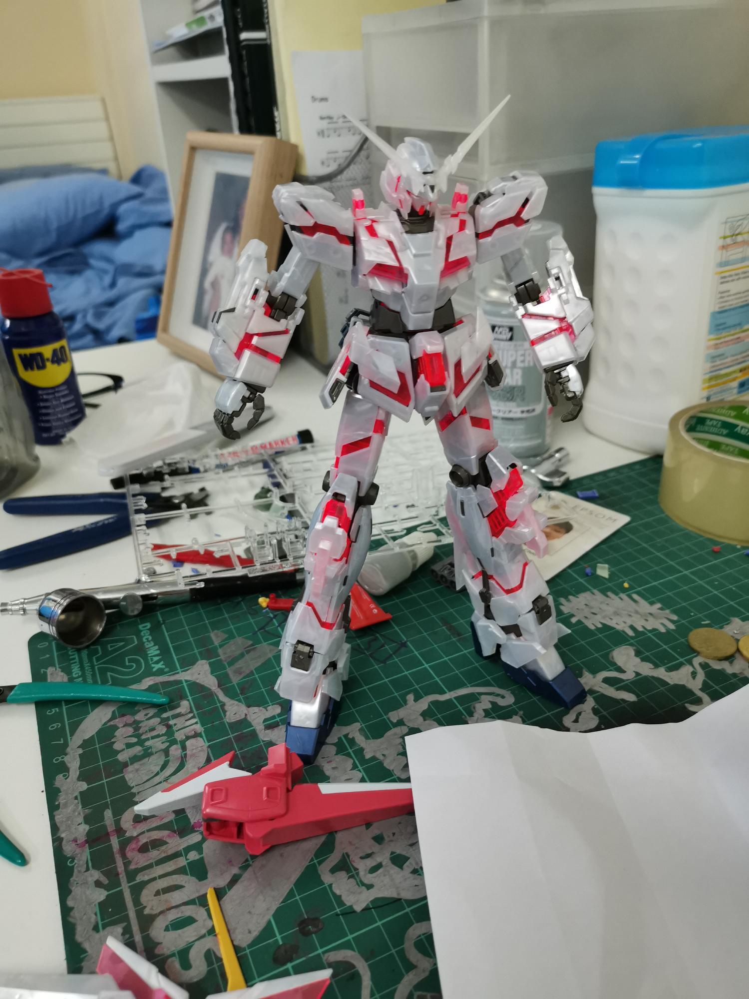 Unicorn Gundam Pearl Gloss