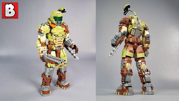 The Doom Slayer! LEGO Custom Build