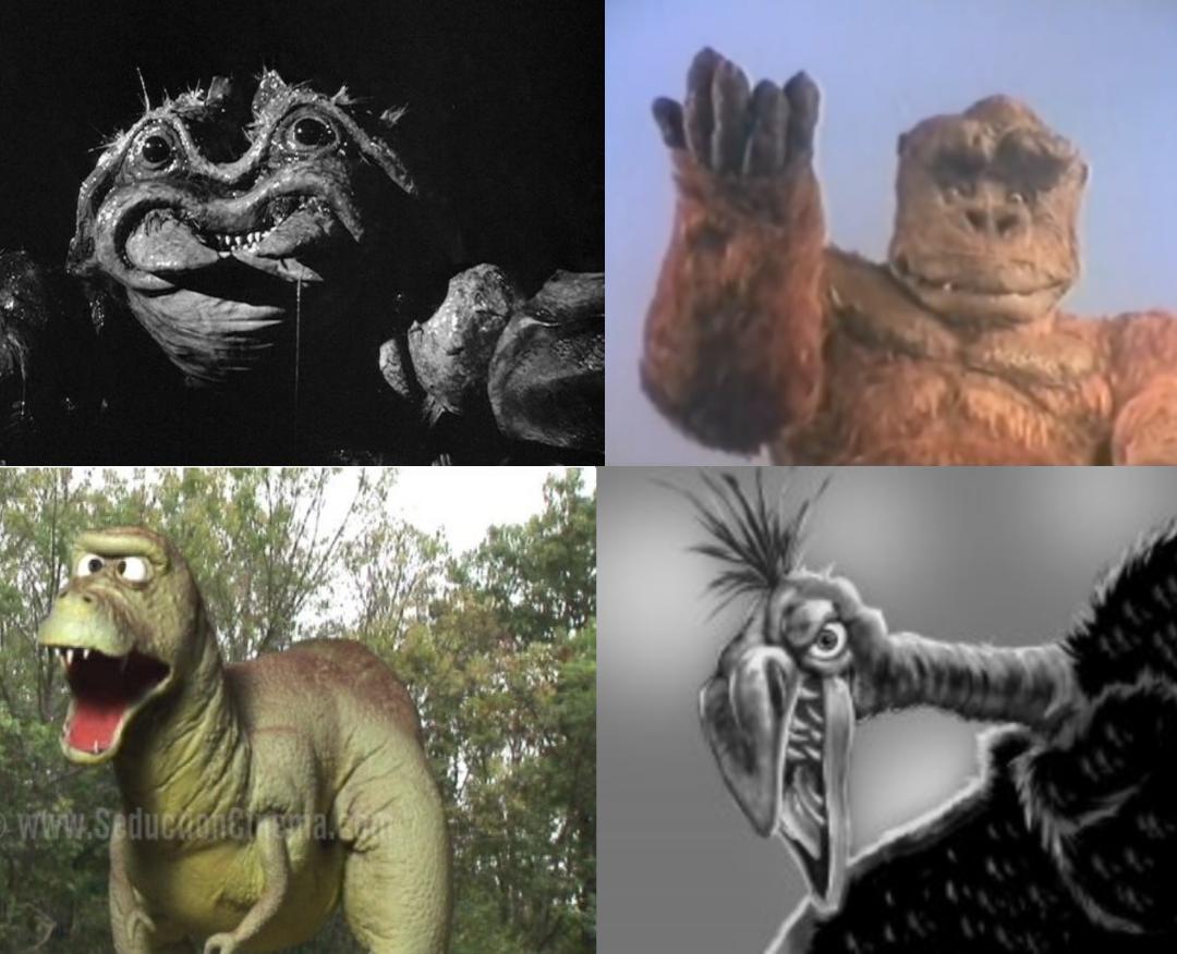 Die Top 4 der hässlichsten Kaiju's