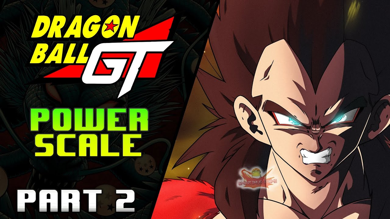 Why Dragon Ball GT Characters are STRONGER Power Scale: Part 2