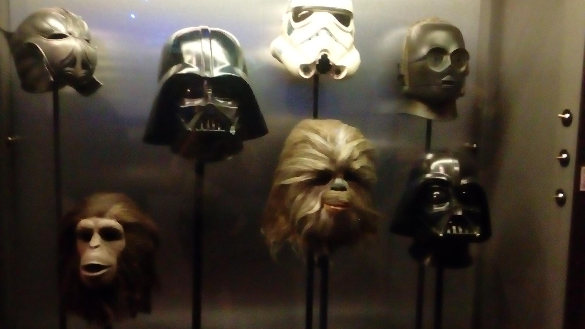 The darth vader mask is different in episode 5