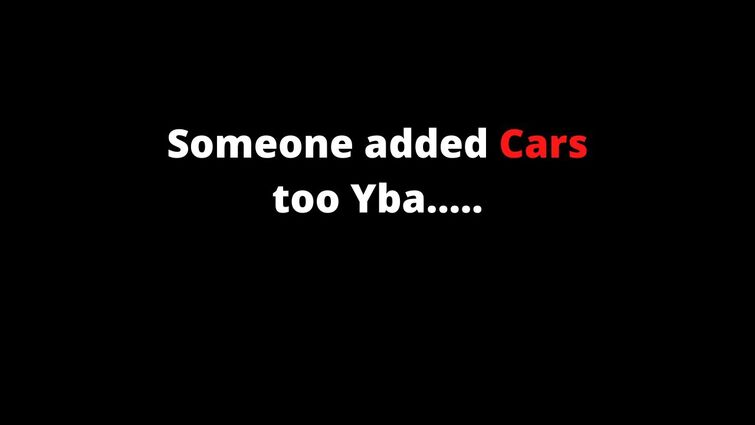 (Yba) Cars in Yba cant say much more than that.
