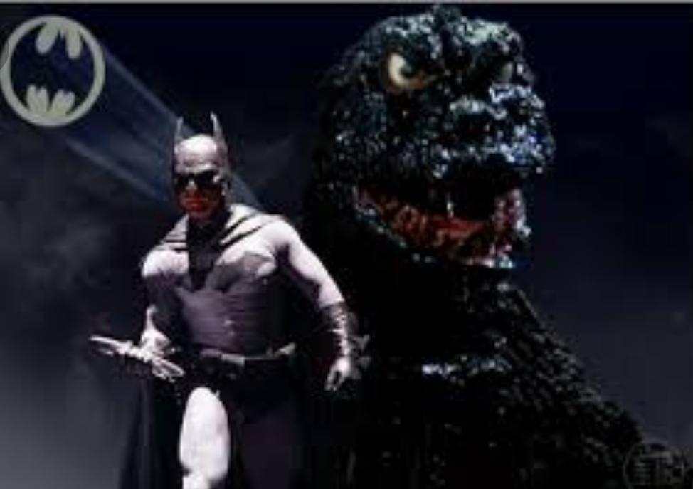 ANYONE REMEMBER THAT THERES SHOULD BE MOVIE CALLED GODZILLA VS BATMAN (1966)BUT IT WAS CANCELED