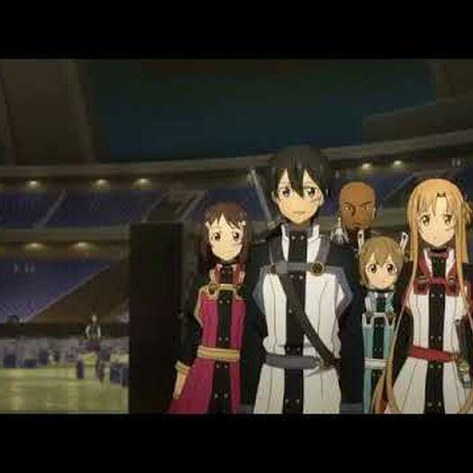 劇場版SAO キリトが最強なシーン