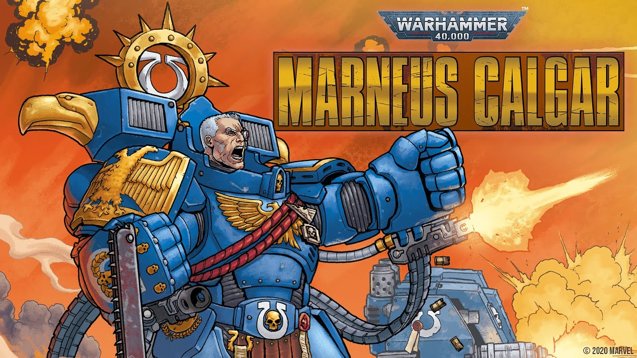WARHAMMER 40,000: MARNEUS CALGAR #1 Trailer | Marvel Comics