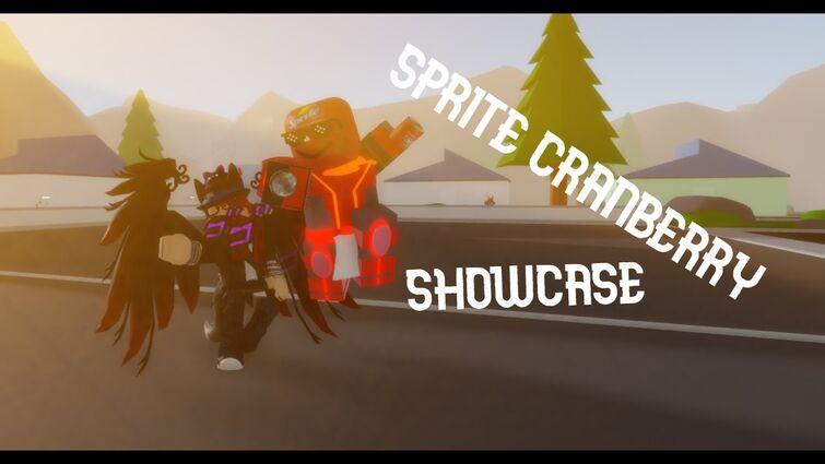 Sprite Cranberry ShowCase - A Bizarre Journey