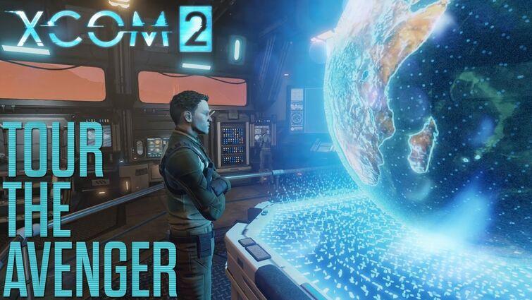 """Official XCOM 2 """"Tour the Avenger"""" Video"""