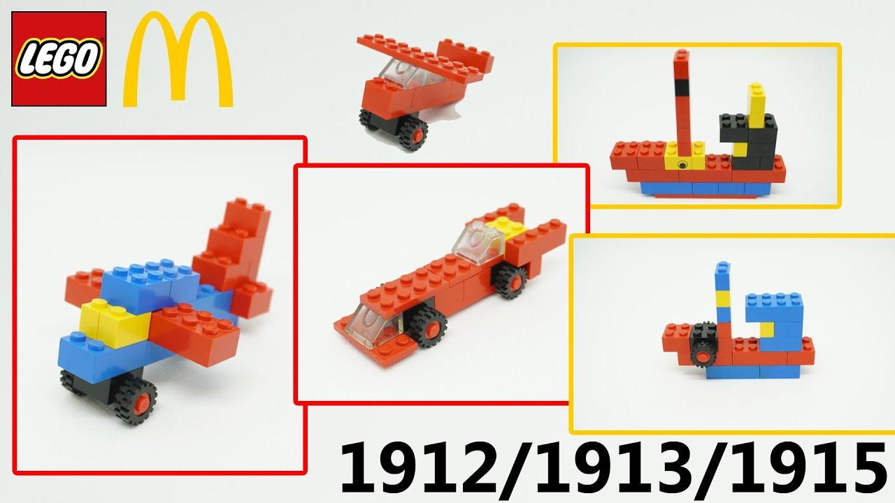 USA Special: LEGO® 1912 + 1913 + 1915: Lego Building Set (1989)
