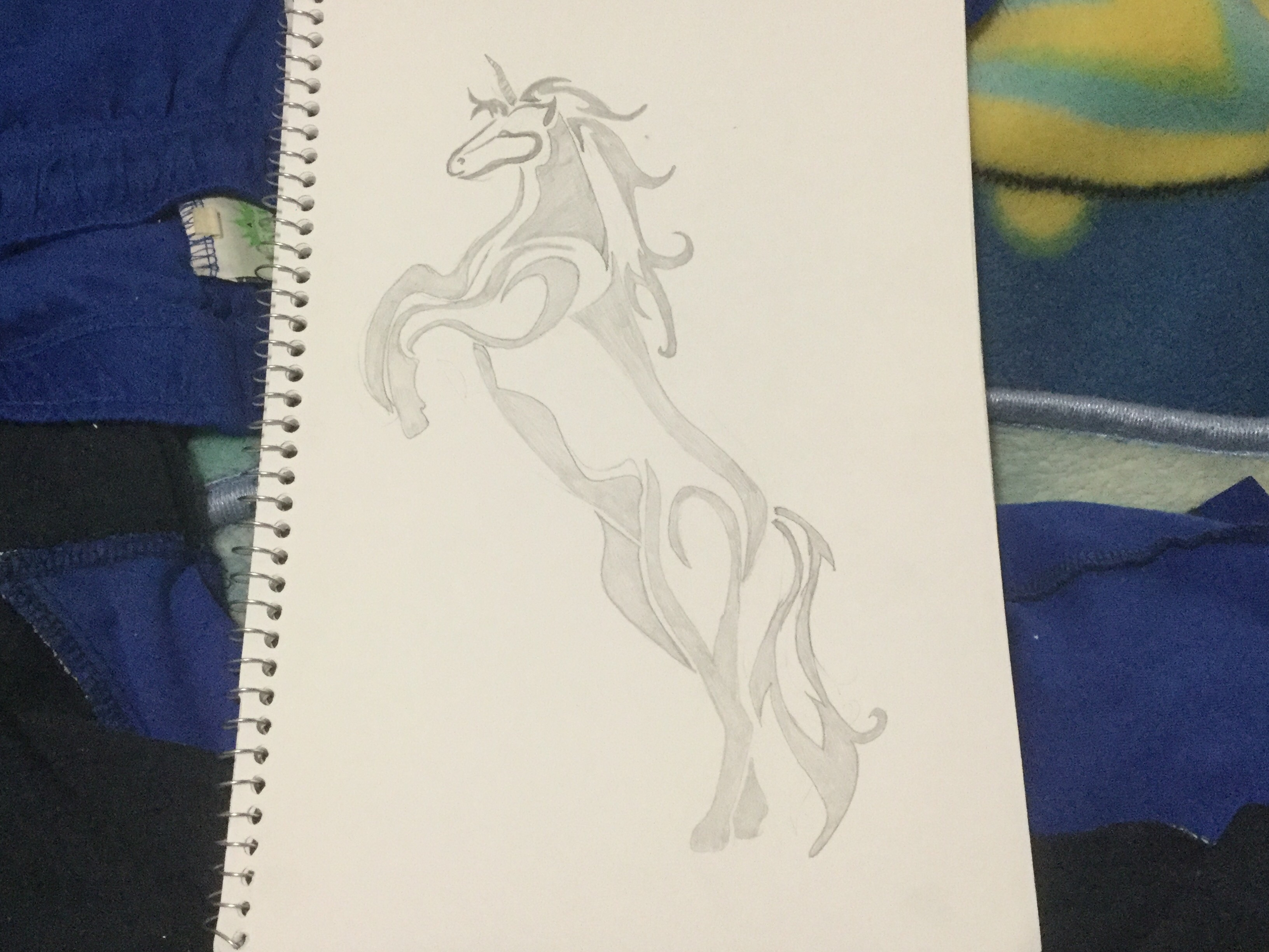 My Tribal Tattoo Art: Unicorn