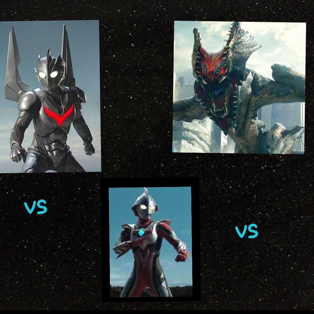 Ultraman nexus vs ultraman noa vs raijin