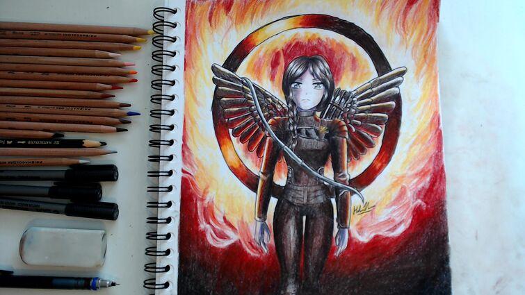 Katniss Everdeen fanart