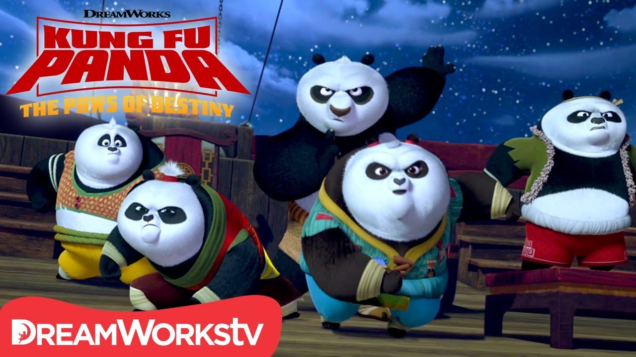 Flying Ship Explosion! | KUNG FU PANDA: THE PAWS OF DESTINY