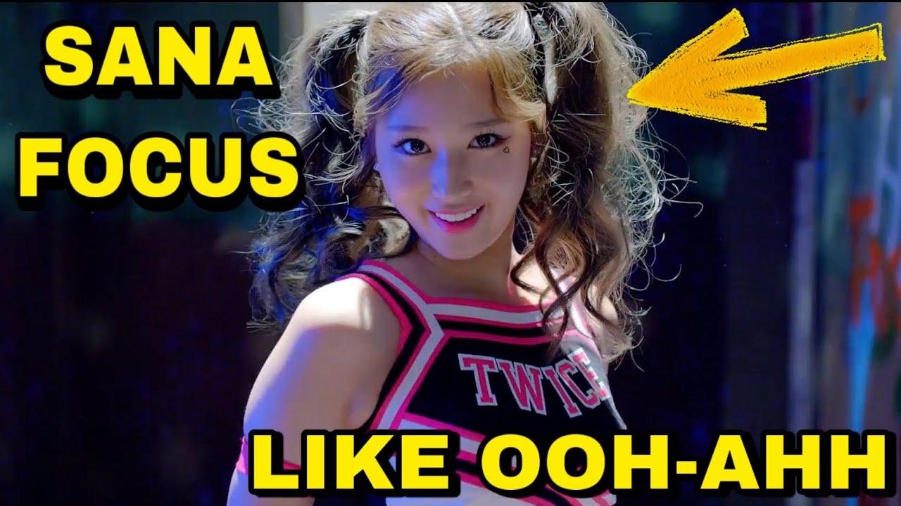 TWICE - Like OOH-AHH MV (Sana Focus)