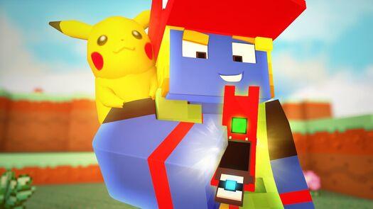 Minecraft: VAMOS CAPTURAR TODOS!   Pokedex #01