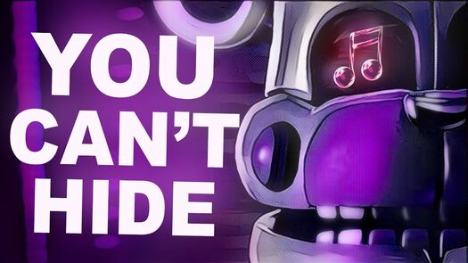 """FNAF SISTER LOCATION SONG   """"You Can't Hide"""" by CK9C [Official SFM]"""