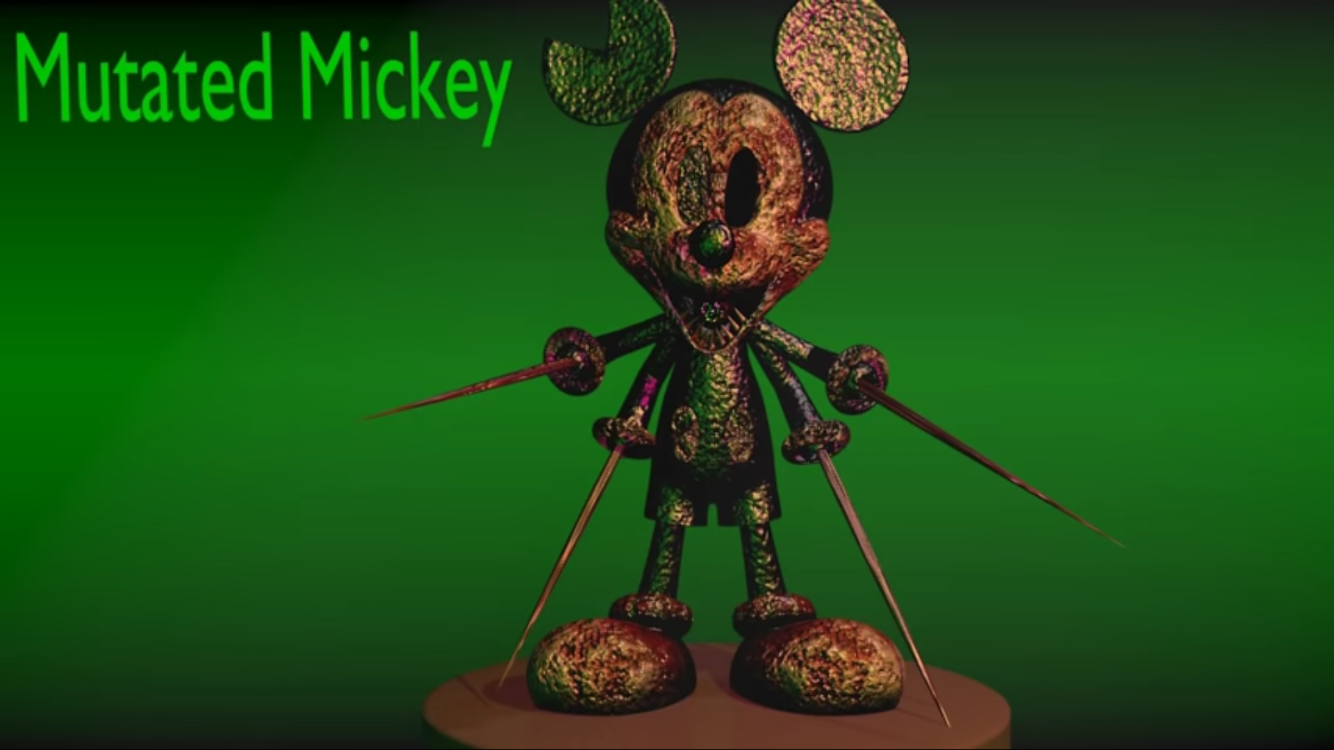 Mutated Mickey