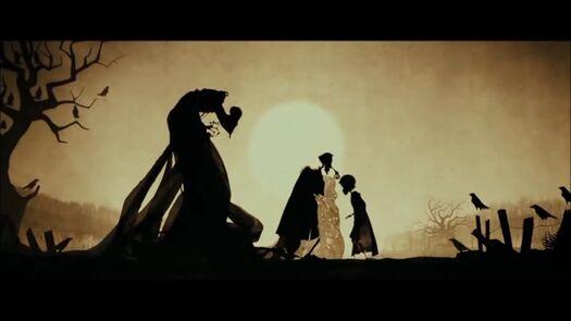 HP: Storia dei Tre Fratelli + Albus Silente + Bacchetta di Sambuco (Confezione Ollivanders)