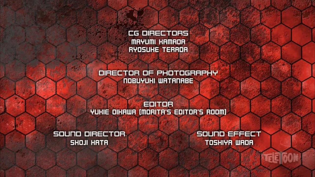 Bakugan: Armored Alliance English Credits