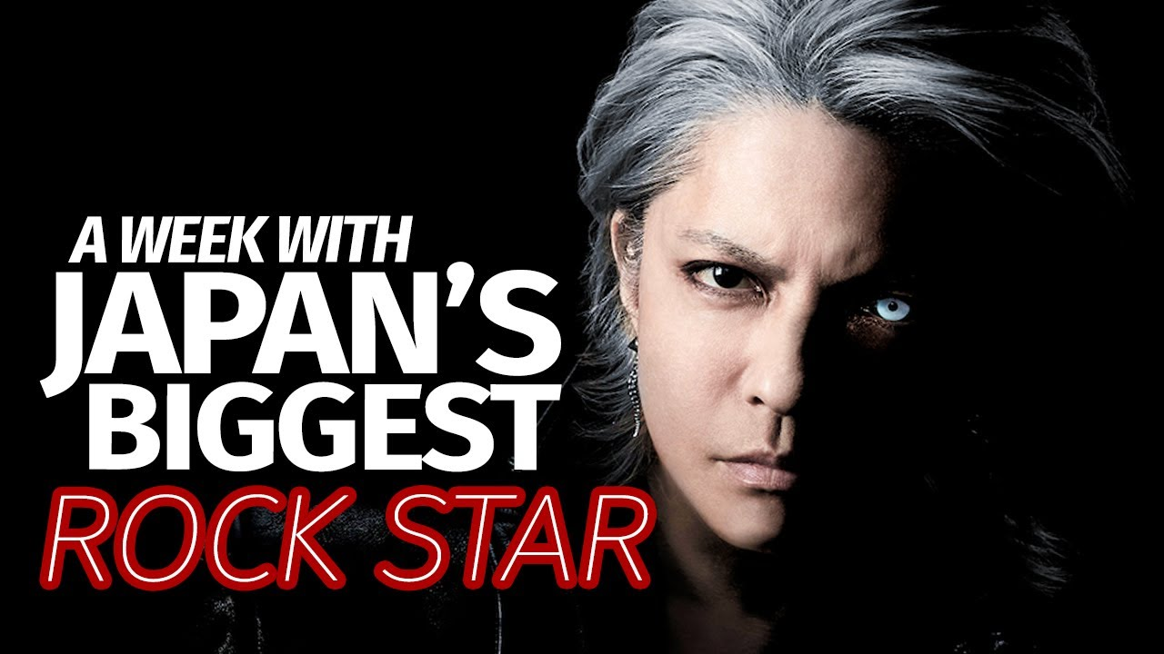 I Spent a Week with Japan's Biggest Rock Star