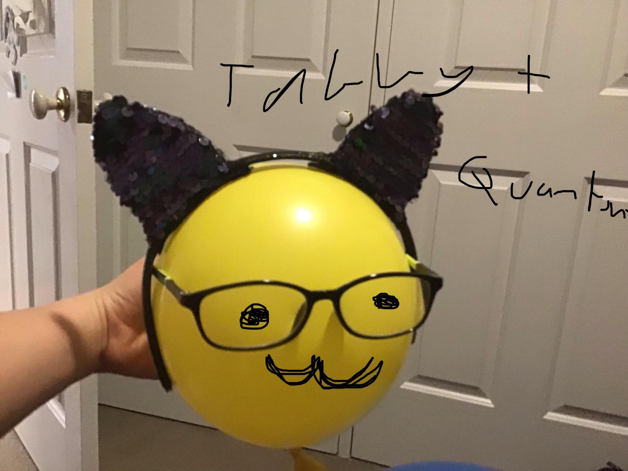 Tabby quantum slime with fashion pod