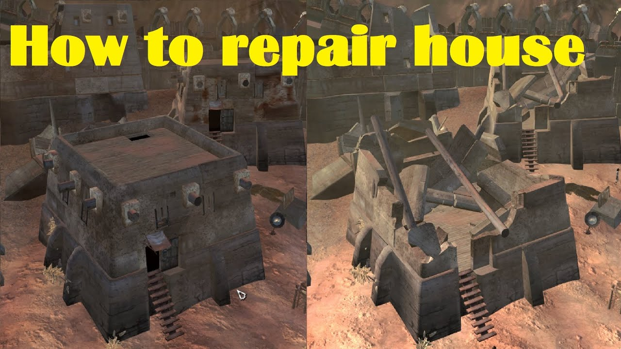 Kenshi How To Repair House. I Repaired All Buildings In The Hub.