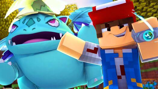 Minecraft POKEDEX #9 - MEGA EVOLUÇÃO ‹ Caique Vieira ›