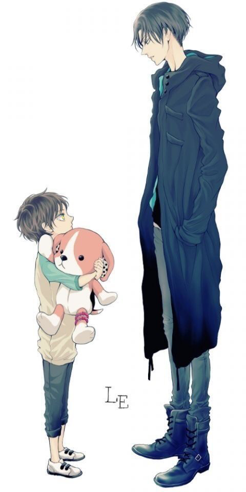 Levi finds a little boy clinging to his stuffed dog. Hmm...doesn't the little boy look familiar?