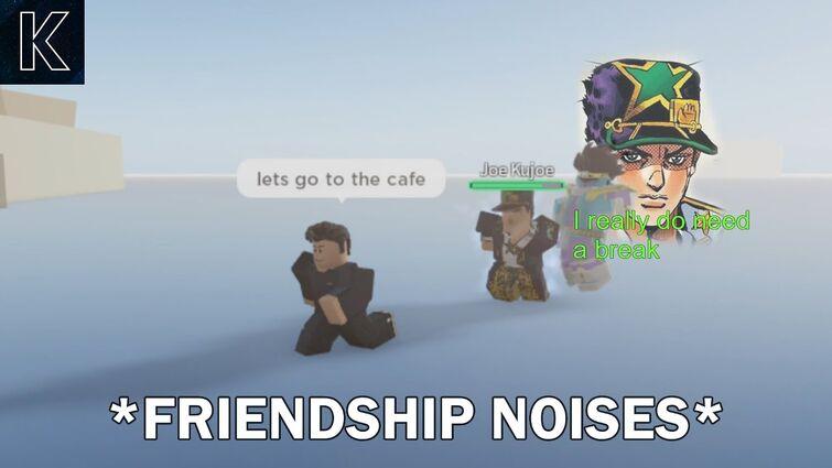 [YBA] Jotaro P6 and I become friends