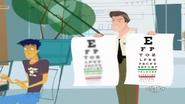 Blurry Eye Chart