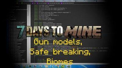 Minecraft_Mod_7_Days_to_Mine_-_Alpha_4_Gun_models,Safe_breaking_,_Biomes