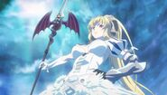 Lucifer as she appears in the anime.