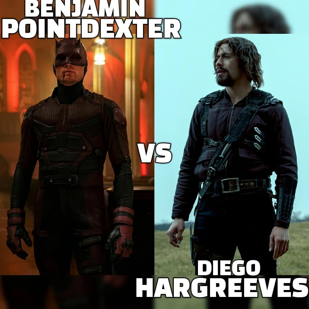 """@_deathbattle on Instagram: """"#benjaminpointdexter vs #diegohargreeves ➖➖➖➖➖➖➖➖➖➖ Location: Carnival Prep: None Intel: Prior Knowledge Feats: Live Action Gear: Both…"""""""