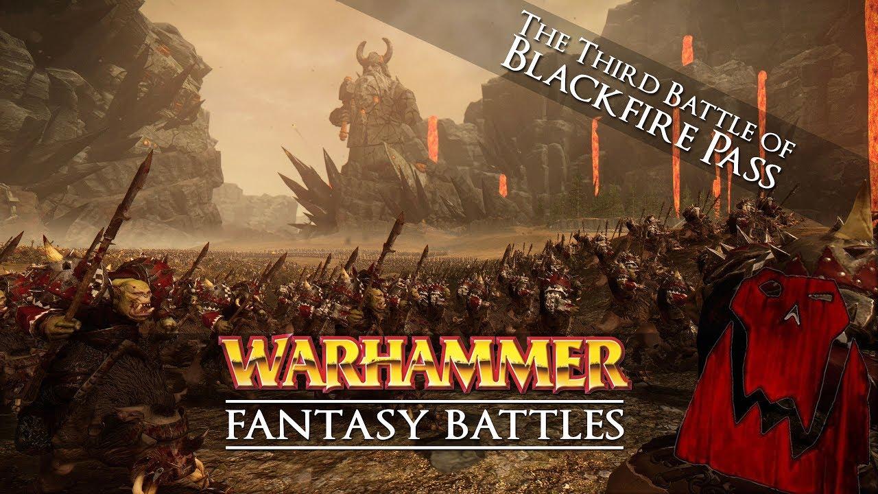 Warhammer Fantasy Cinematic Battle: The Third Battle of Blackfire Pass - - Total War: Warhammer